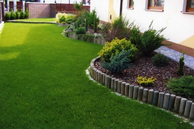 Дизайн газону фото